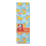 Rubber Duckies & Flowers Runner Rug - 3.66'x8' (Personalized)