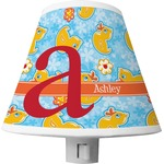 Rubber Duckies & Flowers Shade Night Light (Personalized)
