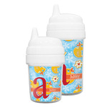 Rubber Duckies & Flowers Sippy Cup (Personalized)