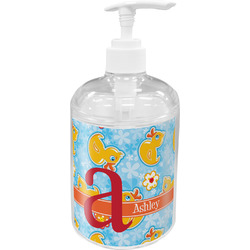 Rubber Duckies & Flowers Soap / Lotion Dispenser (Personalized)
