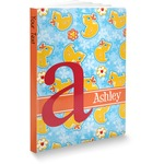 Rubber Duckies & Flowers Softbound Notebook (Personalized)