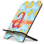 Rubber Duckies & Flowers Stylized Tablet Stand (Personalized)