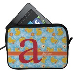 Rubber Duckies & Flowers Tablet Case / Sleeve (Personalized)