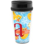 Rubber Duckies & Flowers Travel Mugs (Personalized)