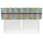 Rubber Duckies & Flowers Valance (Personalized)