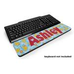 Rubber Duckies & Flowers Keyboard Wrist Rest (Personalized)