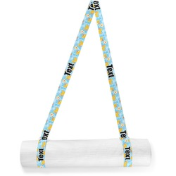 Rubber Duckies & Flowers Yoga Mat Strap (Personalized)