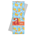 Rubber Duckies & Flowers Yoga Mat Towel (Personalized)