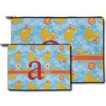 Rubber Duckies & Flowers Zipper Pouch (Personalized)