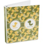 Rubber Duckie Camo 3-Ring Binder (Personalized)
