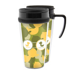 Rubber Duckie Camo Acrylic Travel Mugs (Personalized)