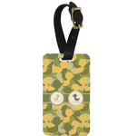 Rubber Duckie Camo Aluminum Luggage Tag (Personalized)