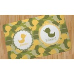 Rubber Duckie Camo Area Rug (Personalized)