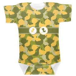 Rubber Duckie Camo Baby Bodysuit (Personalized)