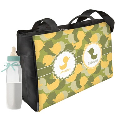 Rubber Duckie Camo Diaper Bag (Personalized)