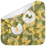 Rubber Duckie Camo Baby Hooded Towel (Personalized)