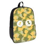 Rubber Duckie Camo Kids Backpack (Personalized)