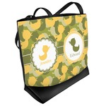 Rubber Duckie Camo Beach Tote Bag (Personalized)