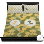 Rubber Duckie Camo Duvet Cover Set (Personalized)