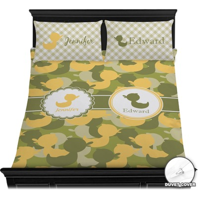 Rubber Duckie Camo Duvet Covers (Personalized)