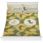 Rubber Duckie Camo Comforters (Personalized)