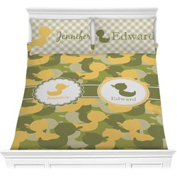 Rubber Duckie Camo Comforter Set (Personalized)
