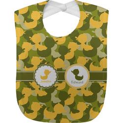 Rubber Duckie Camo Baby Bib (Personalized)