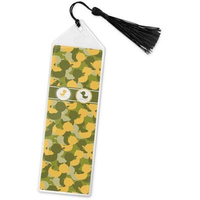 Rubber Duckie Camo Book Mark w/Tassel (Personalized)