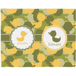 Rubber Duckie Camo Placemat (Fabric) (Personalized)