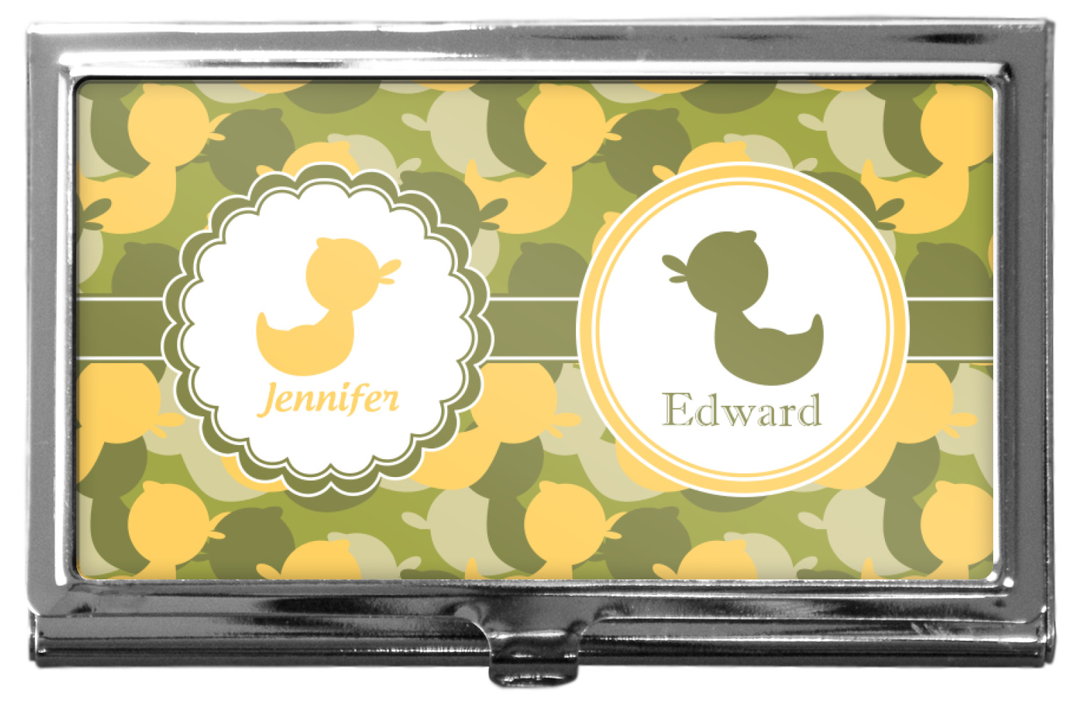 Rubber duckie camo business card holder youcustomizeit rubber duckie camo business card holder colourmoves