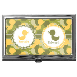 Rubber Duckie Camo Business Card Holder