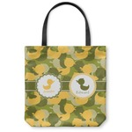 Rubber Duckie Camo Canvas Tote Bag (Personalized)