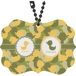 Rubber Duckie Camo Rear View Mirror Charm (Personalized)