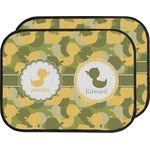 Rubber Duckie Camo Car Floor Mats (Back Seat) (Personalized)