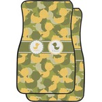 Rubber Duckie Camo Car Floor Mats (Front Seat) (Personalized)