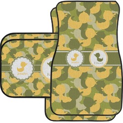 Rubber Duckie Camo Car Floor Mats (Personalized)