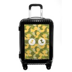 Rubber Duckie Camo Carry On Hard Shell Suitcase (Personalized)