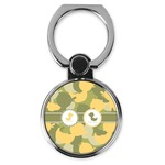 Rubber Duckie Camo Cell Phone Ring Stand & Holder (Personalized)