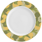 Rubber Duckie Camo Ceramic Dinner Plates (Set of 4) (Personalized)