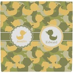 Rubber Duckie Camo Ceramic Tile Hot Pad (Personalized)