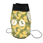 Rubber Duckie Camo Neoprene Drawstring Backpack (Personalized)