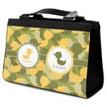 Rubber Duckie Camo Classic Tote Purse w/ Leather Trim (Personalized)