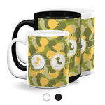 Rubber Duckie Camo Coffee Mugs (Personalized)