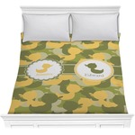 Rubber Duckie Camo Comforter (Personalized)