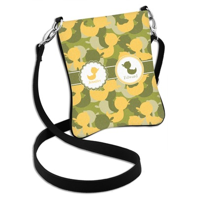 Rubber Duckie Camo Cross Body Bag - 2 Sizes (Personalized)
