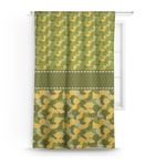 Rubber Duckie Camo Curtain (Personalized)