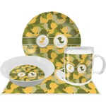Rubber Duckie Camo Dinner Set - 4 Pc (Personalized)