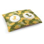 Rubber Duckie Camo Dog Bed (Personalized)