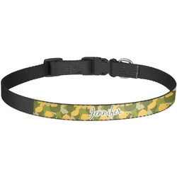 Rubber Duckie Camo Dog Collar - Large (Personalized)