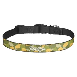 Rubber Duckie Camo Dog Collar - Multiple Sizes (Personalized)
